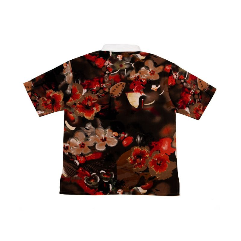 ONEDRINK AND WE GO HOME FLORAL SHIRT