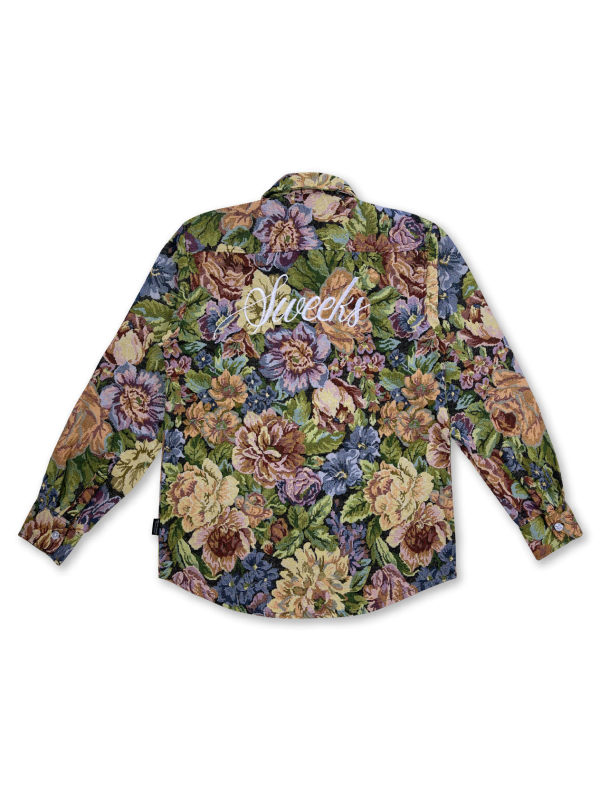 SWEEKS FLORAL L/S SHIRT DAY