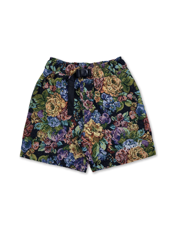SWEEKS FLORAL SHORTS NIGHT